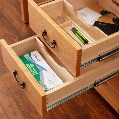 Eshton 2 Divided Drawers & Pencil Tray