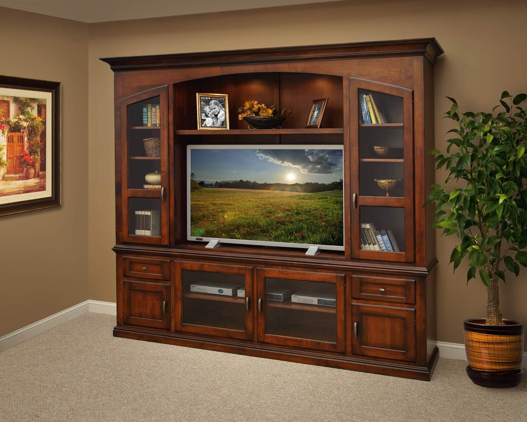 Bailey Entertainment Center Cedar Ridge Furniture