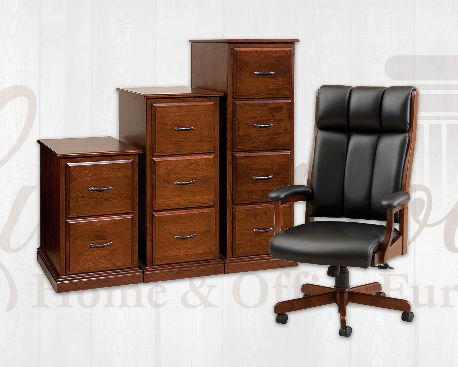 Office Chairs & File Storage