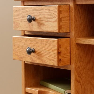 Eshton 4 Dovetail Drawers & 2 Shelves