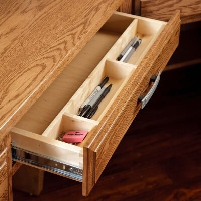 Pencil Drawer w/ Pencil Tray