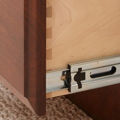 Dovetail Drawers & Full Extension Drawer Slides