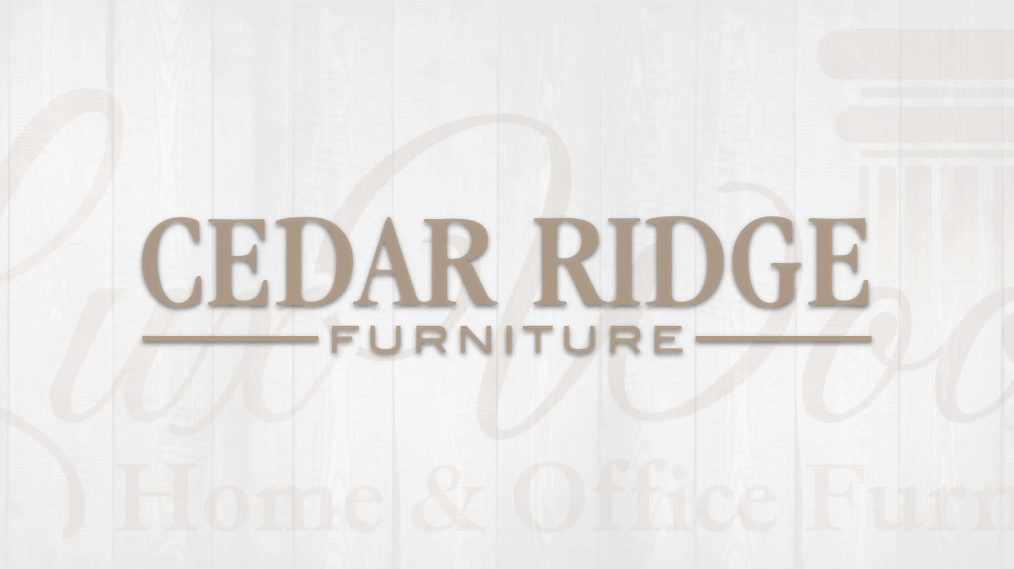 Cedar Ridge Furniture Luxwood Home Office Furniture